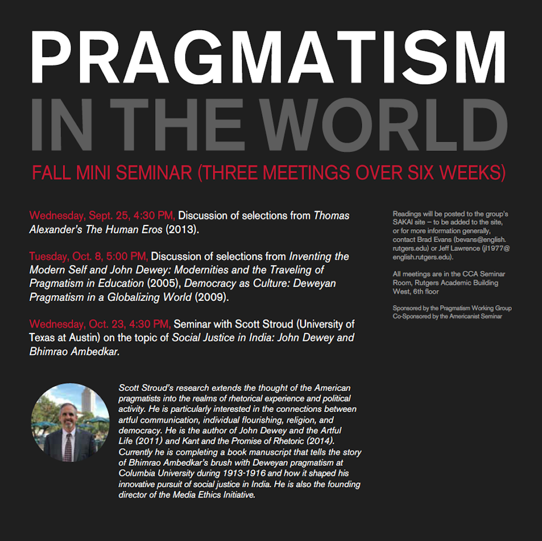 Pragmatism Working Group Events