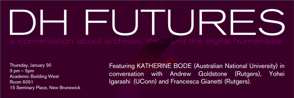 DH Futures - Featuring Katherine Bode