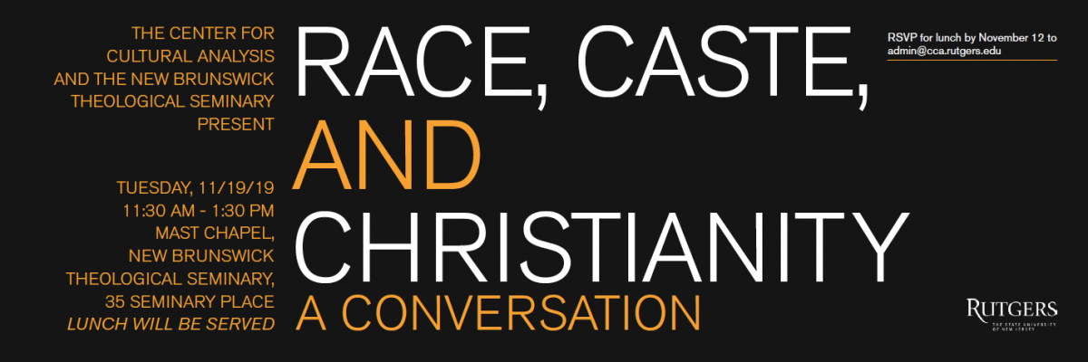 Race, Caste, and Christianity